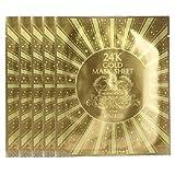 Urban Dollkiss Gold Mask Sheet Set, 24K