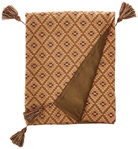 HiEnd Accents Chenille Matching Throw -