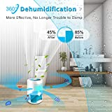 LONOVE Dehumidifiers - Upgraded 2200 Cubic Feet