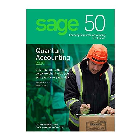 Sage Software 50 Quantum Accounting 2020 U.S. 1-User