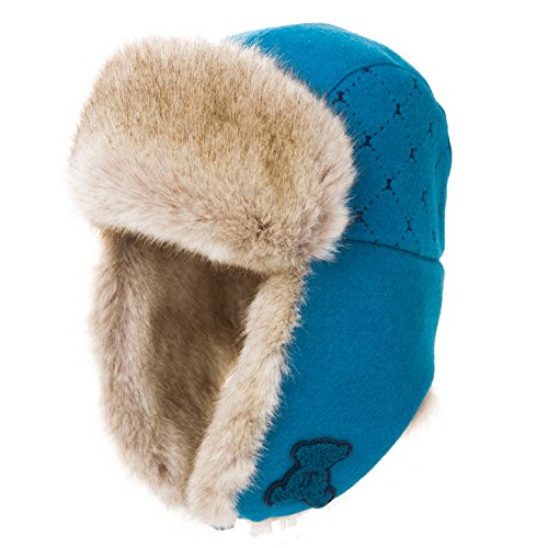 Warm ladies winter caps of Lei feng/ wool care ear muff/ flying hat-C One Size