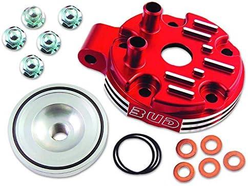 BUD RACING Culasse Compatible Honda 125 CR 04-07 Rouge