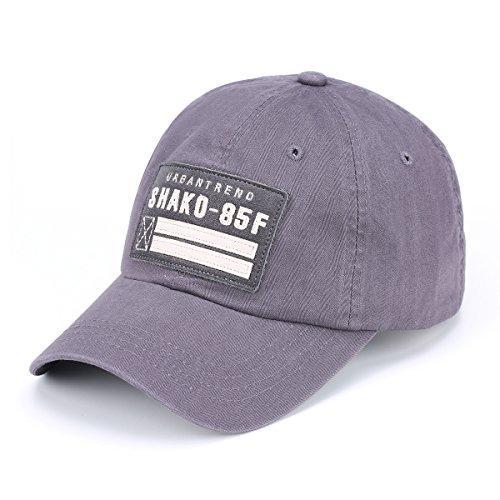 JOOWEN ユニセックス 刺繍 パッチ コットン 野球帽子 キャップ トラッカー スポーツ ハット