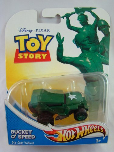 Hot Wheels Toy Story 1:64 Diecast Vehicle: Bucket O' Speed