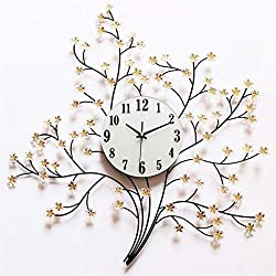 MGE UPS Systems Clock Wall Clock,Creative Living Room Wall Clock Large Bell Simple Silent Clock