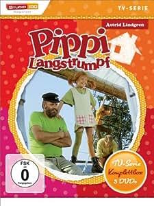 Astrid Lindgren: Pippi Langstrumpf - TV-Serie Komplettbox [Alemania] [DVD]