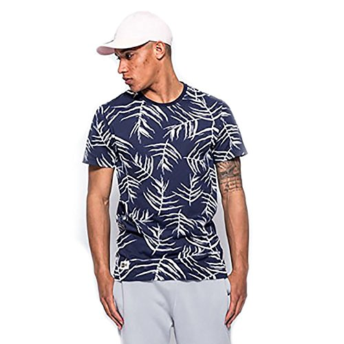 New Era Herren T-Shirt mehrfarbig Navy, White