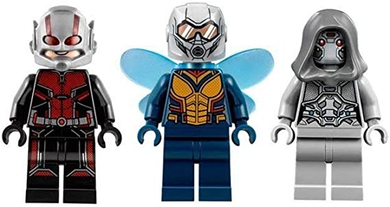 Lego Marvel Super Heroes Ant Man MINIFIG from Lego set #76109 Brand New