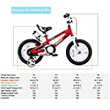 RoyalBaby Kids Bike Boys Girls 12 Inch Space No.1