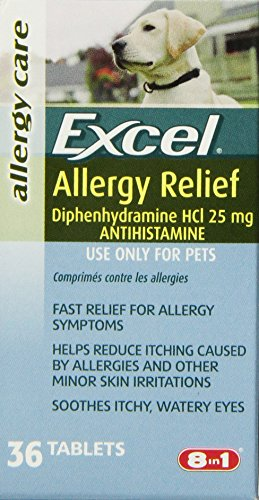 8 in 1 Excel Allergy Relief, Antihistamine, 36-Count