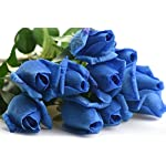 FiveSeasonStuff-10-Stems-of-Real-Touch-Silk-Roses-Petals-Feel-and-Look-like-Fresh-Roses-Artificial-Flower-Bouquet-for-Wedding-Bridal-Office-Party-Home-Decor