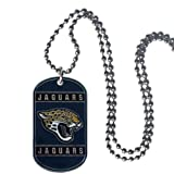 NFL Jacksonville Jaguars Dog Tag Necklace