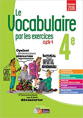 Amazon Fr Le Vocabulaire Par Les Exercices 4e Thomas