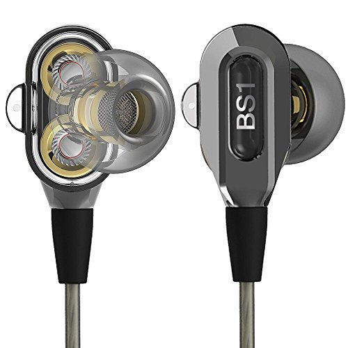 8 Channel Balanced Stereo - ActionPie VJJB-V1S High Resolution Heavy Bass In-ear Headphones with Mic for SmartPhones