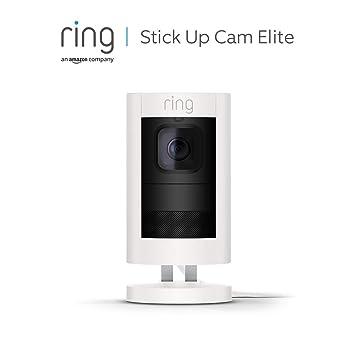 Ring Stick Up Cam Elite Von Amazon Hd Sicherheitskamera Mit Gegensprechfunktion Weiß Funktioniert Mit Alexa Alle Produkte