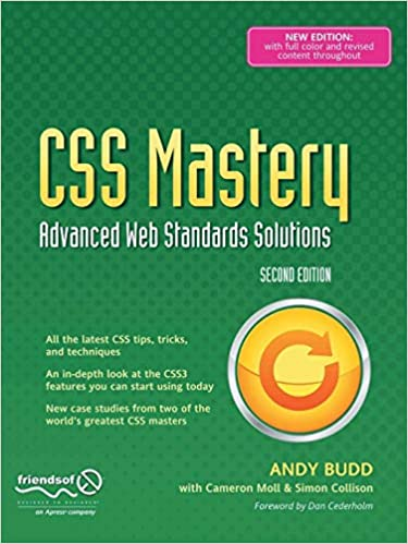 CSS Mastery: Advanced Web Standards Solutions (Black & White): Simon