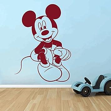 Vinilos Mickey Mouse Para Pared.Dreamkraft Mickey Mouse Adhesivos Decorativos Para Pared