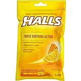 #6: HALLS Cough Drops, (Honey-Lemon, 30 Drops)