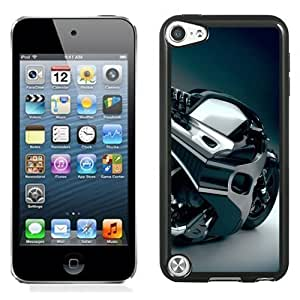 Designed For Ipod Touch 4 Case Cover Blue Concept Motorcycle Phone