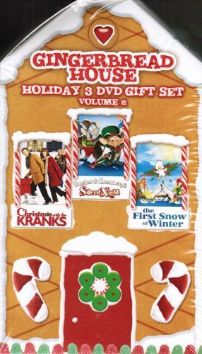 Gingerbread House Holiday 3 DVD Gift Set Volume 2 - Christmas with the KRANKS, Buster & Chauncey's Silent Night, and the First Snow of Winter