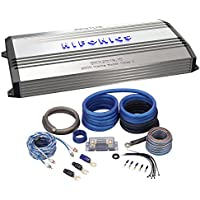 Package: Hifonics Brutus BRX3016.1D 3000 Watt RMS Class D Mono Block Car Amplifier With Bass Remote + Rockville RWK0CU 0 Gauge 100% Pure OFC Copper 2 Channel Complete Car Amplifier Installation Kit