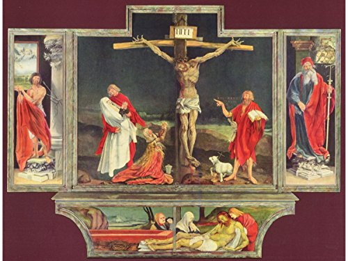 (The Isenheim Altarpiece by Matthias Grünewald)