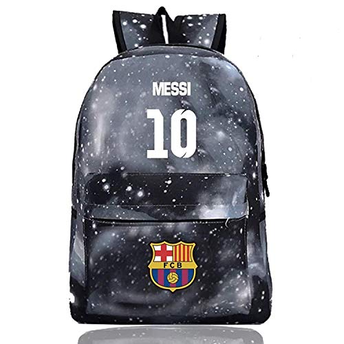 bf7c84afb Messi Backpack Kids Back to School Barcelona Backpack Outdoor Travel ...