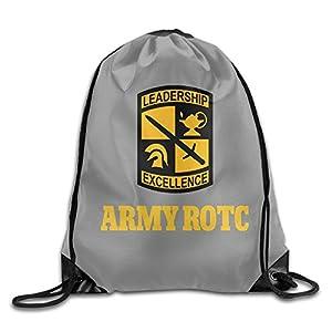 HAOHAO Men's Army Rotc Drawstring Backpacks/Bags