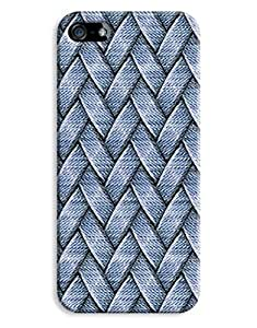 Blue Weave Basket Case for your iPhone 5/5S