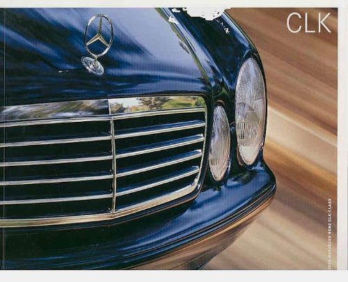 2002 MERCEDES-BENZ CLK-CLASS PRESTIGE COLOR SALES BROCHURE for sale  Delivered anywhere in USA