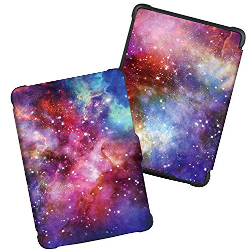 Case for Kindle Paperwhite -Premium Thinnest and Lightest PU Leather Cover with Auto Wake/Sleep for Amazon All-New Kindle Paperwhite (Fits 2012, 2013, 2015 Versions), Nebula Galaxy by Genetic. (Image #4)