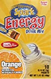 spark energy drink orange - Morning Spark Energy Drink Mix, Orange 10 Packets per Box (Pack of 4)