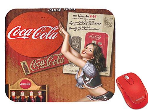 Vintage Coca Cola Design Mouse Pad - Design Coke