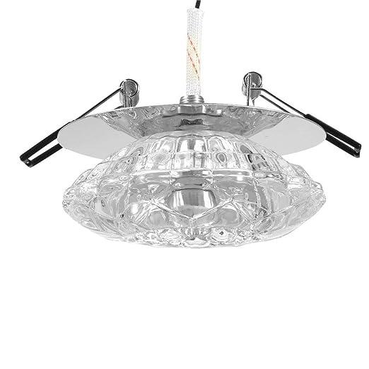 Foco empotrable de techo LED, 3W proyector empotrado accesorio de ...