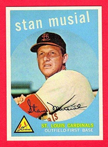 Stan Musial 1959 Topps Baseball Reprint Card (St Louis Cardinals)
