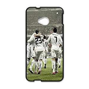HTC One M7 Phone Case Black Real Madrid 2 SEW5337244