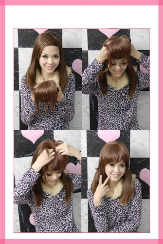 New best clip in swept bangs hair extensions for thin hair new best clip in swept bangs hair extensions for thin hair hairpiece skin top design pmusecretfo Choice Image