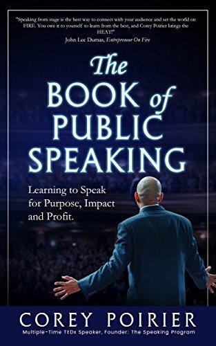 The Book of Public Speaking by Corey Poirier ebook deal