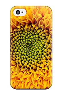 First-class Case Cover For Iphone 4/4s Dual Protection Cover Yellow Flowers