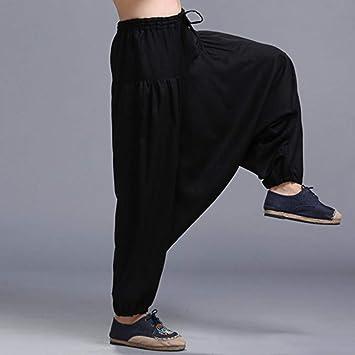 YYHGLH Pantalones Sueltos De Harén Ocasionales Pantalones De ...