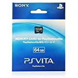 Sony PlayStation Vita Memory Card 64GB (PCH-Z641J) with Acotto Memory Case