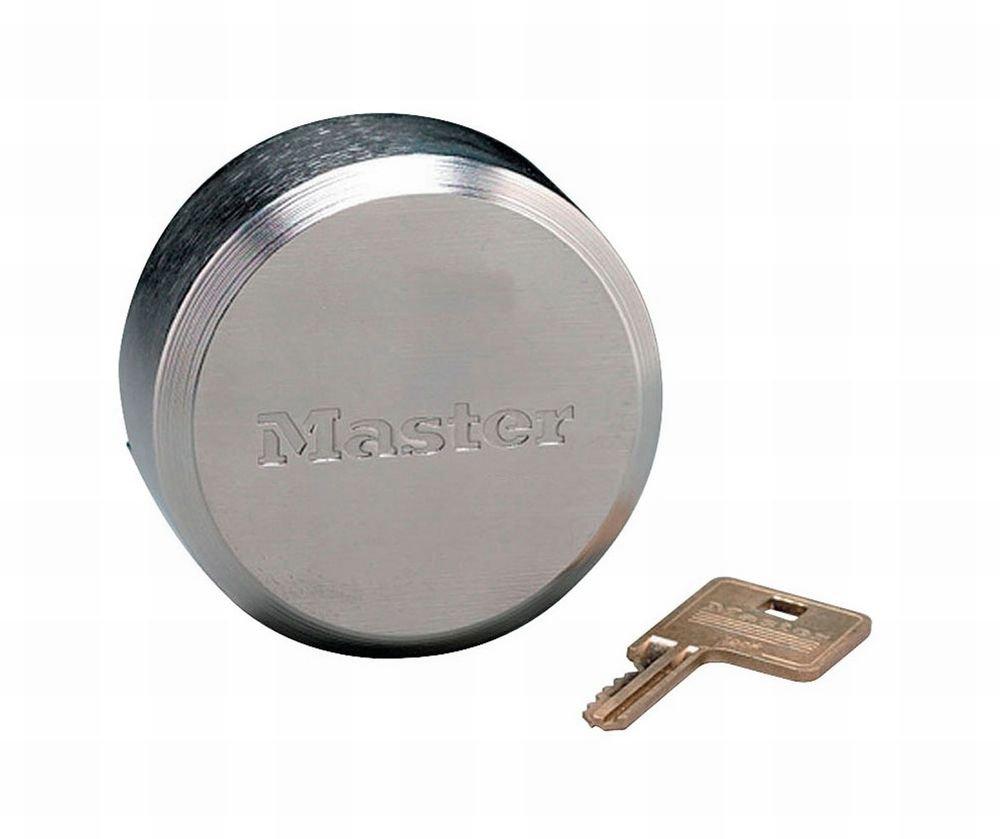 Master Lock 6271KA 10 Pack 2-7/8in. ProSeries Reinforced Hidden Shackle Rekeyable Pin Tumbler Keyed Alike Padlock, Chrome