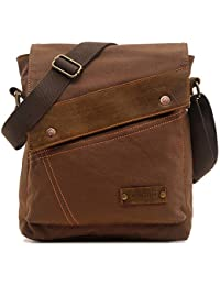 Messenger Bag, Vintage Small Canvas Shoulder Crossbody Purse