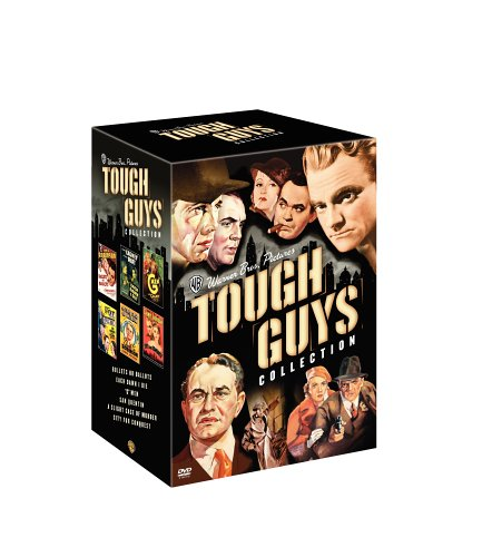 Warner Bros. Pictures Tough Guys Collection (Bullets or Ballots / City for Conquest / Each Dawn I Die / G Men / San Quentin / A Slight Case of ()