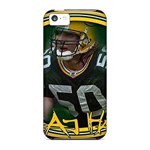 Shock-dirt Proof Green Bay Packers Cases Covers For Iphone 5c