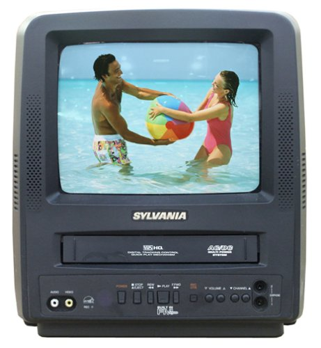 Sylvania SSC092 9 Inch Portable Combo