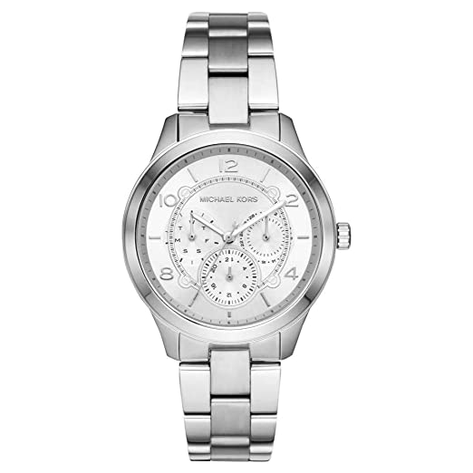 0d71fff84212 Michael Kors Womens Analogue Quartz Watch with Stainless Steel Strap  MK6587  Amazon.co.uk  Watches