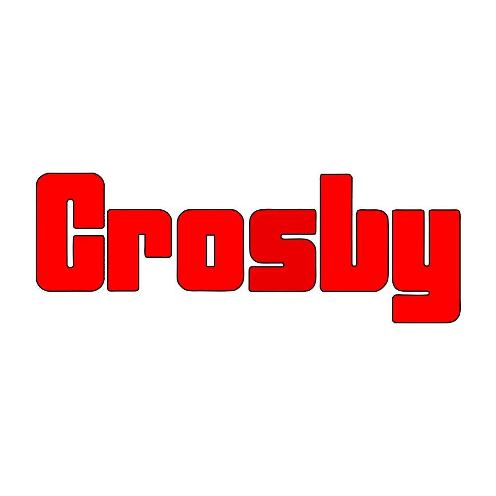 Forged Steel Hot-Dip Galvanized Crosby 1017582 G-209A Alloy Screw Pin Anchor Shackle 12.5 Ton Working Load Limit 1 Inch
