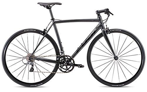 FUJI(フジ) ROUBAIX AURA 2x8段変速 クロスバイク 19ROBABK46 MATTE BLACK 46cm   B07G2CZL5G