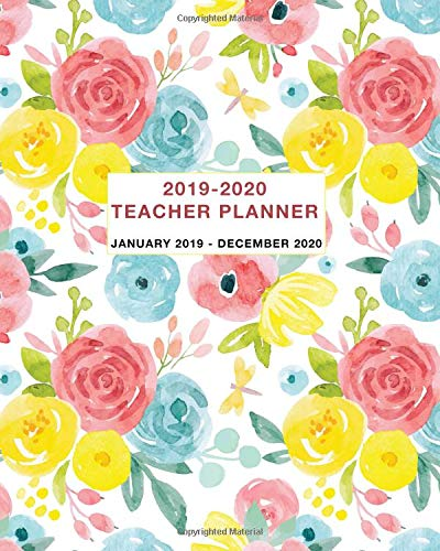 2019-2020 Teacher Planner: Two Year Daily, Weekly and Monthly Calendar and Planner January 2019 - December 2020 Paperback – August 3, 2018 Simple Print Press Independently published 1718031998 Education / Vocational